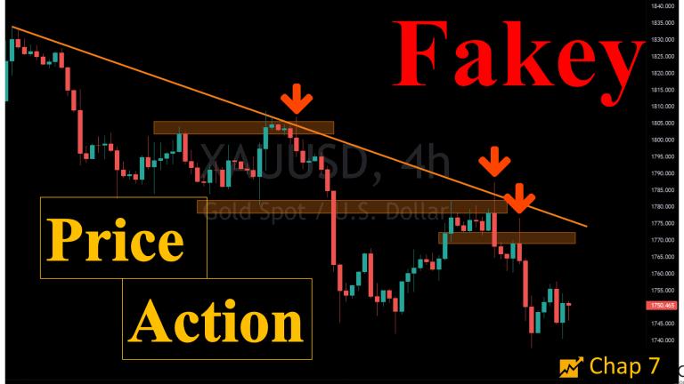 Price Action: mẫu hình nến xác nhận Fakey (chap 7)